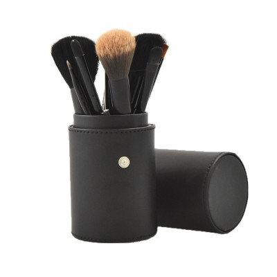 Basics Makeup Brush Set Zwart 12 st