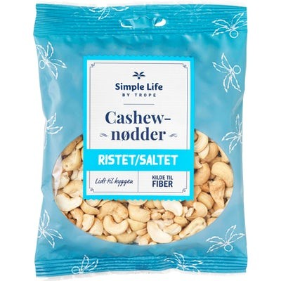 Trope Cashewnødder Ristet & Saltet 155 g