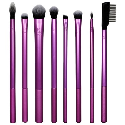 Real Techniques Everyday Eye Essentials Brush Set 8 st