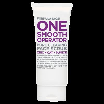 Formula 10.0.6 One Smooth Operator Pore Clearing Face Scrub 100 ml