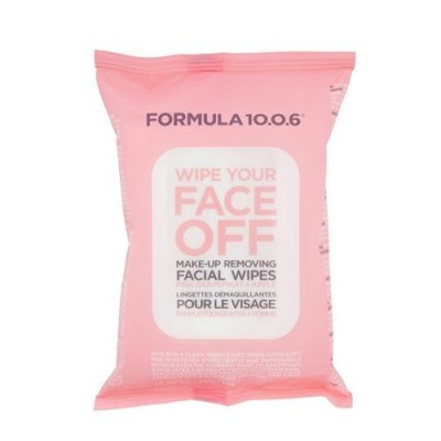 Formula 10.0.6 Wipe Your Face Off Facial Wipes 25 st