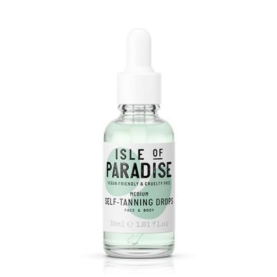Isle Of Paradise Medium Self Tanning Drops Gezicht & Lichaam 30 ml
