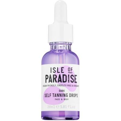 Isle Of Paradise Dark Self Tanning Drops Gezicht & Lichaam 30 ml
