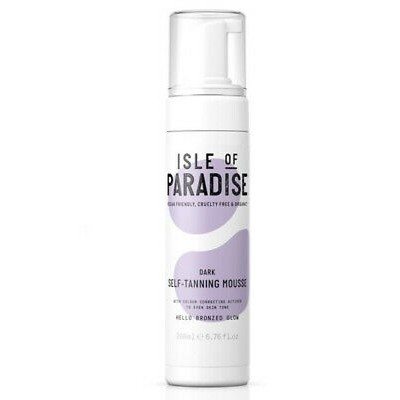 Isle Of Paradise Dark Self Tanning Mousse 200 ml