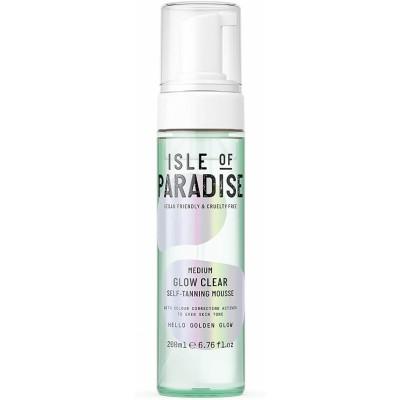 Isle Of Paradise Medium Glow Clear Self Tanning Mousse 200 ml