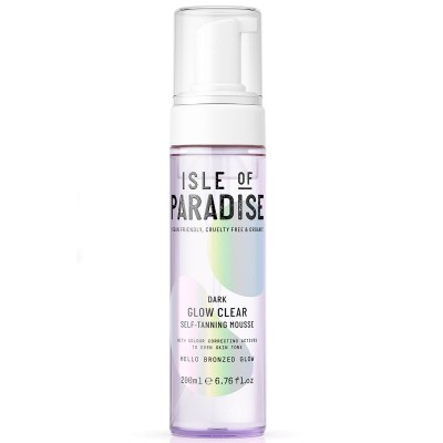 Isle Of Paradise Dark Glow Clear Self Tanning Mousse 200 ml