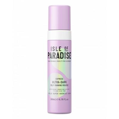 Isle Of Paradise Express Ultra Dark Self Tan Mousse 200 ml