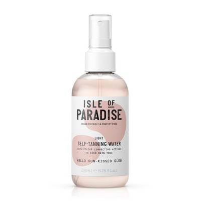 Isle Of Paradise Light Self Tanning Water 200 ml