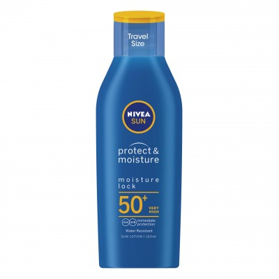Nivea Sun Protect & Moisture Travel Size SPF50+ 100 ml