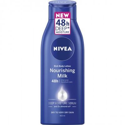 Nivea Body Essentials Rich Body Lotion Nourishing Milk 400 ml
