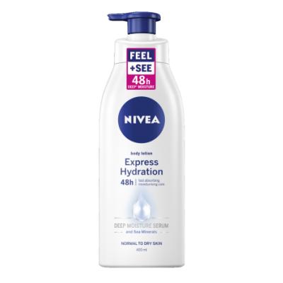 Nivea Body Lotion Express Hydration Pump 400 ml