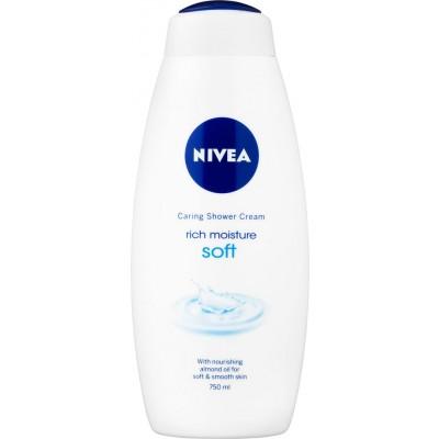 Nivea Caring Shower Cream RIch Moisture Soft 750 ml