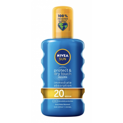 Nivea Sun Protect & Dry Touch Sun Spray SPF20 200 ml