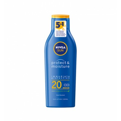 Nivea Sun Protect & Moisture Sun Lotion SPF20 200 ml