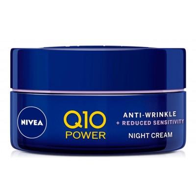 Nivea Q10 Power Anti-Wrinkle Sensitive Night Cream 50 ml