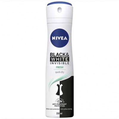 Nivea Invisible Black & White Fresh Deospray 150 ml