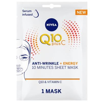 Nivea Q10 Anti-Wrinkle Energy Vitamin C Sheet Mask 1 st