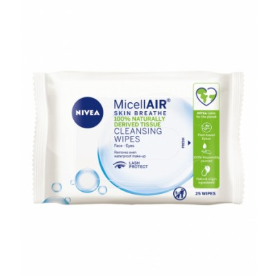 Nivea Micellar All In One Cleansing Wipes 25 st
