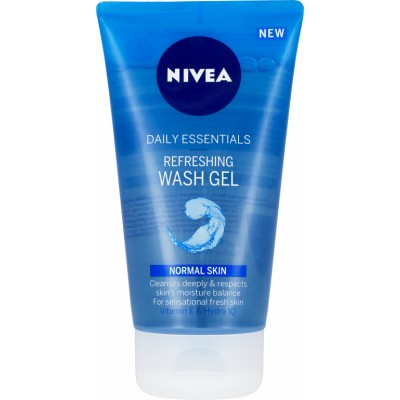 Nivea Daily Essentials Refreshing Wash Gel Normal Skin 150 ml