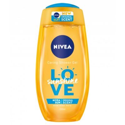 Nivea Caring Shower Gel Love Sunshine 250 ml