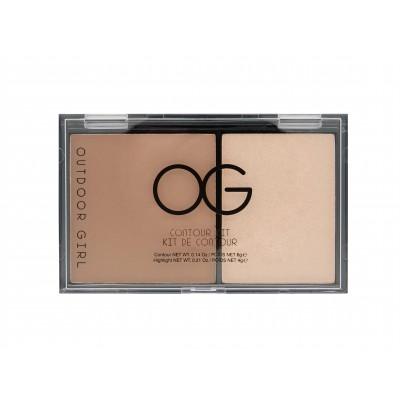 Outdoor Girl Contour Kit Light 6 g + 4 g