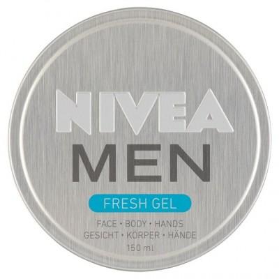 Nivea Men Fresh Gel Face & Body & Hands 150 ml