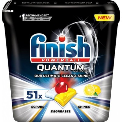 Finish Powerball Quantum Ultimate Lemon 51 stk