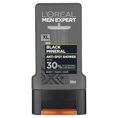 L'Oreal Men Expert Black Mineral Showergel 300 ml