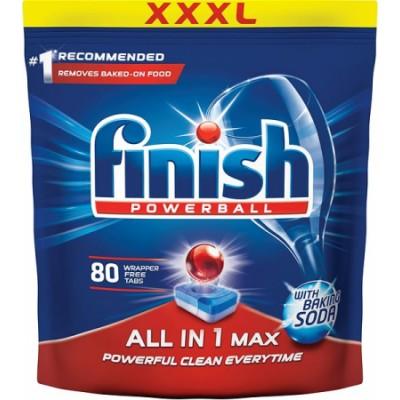 Finish Powerball All In 1 Max Soda 80 stk