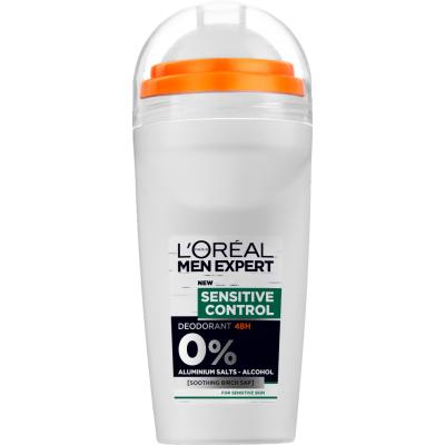L'Oreal Men Expert Sensitive Control Roll On Deo 50 ml