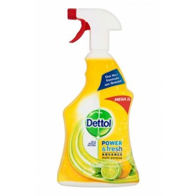 Dettol Power & Fresh Multi-Purpose Cleaning Spray Citrus 1000 ml