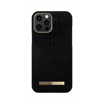 iDeal Of Sweden Atelier Case iPhone 12 Pro Max Nightfall Croco iPhone 12 Pro Max