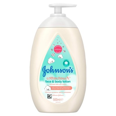 Johnson's Baby Cotton Touch Face & Body Lotion 500 ml
