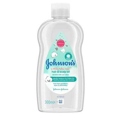 Johnson's Baby Cotton Touch Hair & Scalp Oil 300 ml
