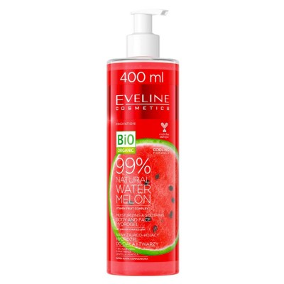 Eveline 99% Natural Water Melon Body & Face Hydrogel 400 ml