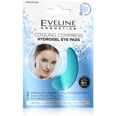 Eveline Cooling Compress Hydrogel Eye Pads 1 pair