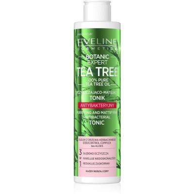 Eveline Botanic Expert Tea Tree Purifying & Mattifying Antibacterial Tonic 225 ml