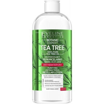 Eveline Botanic Expert Tea Tree Purifying Antibacterial Micellar Lotion 500 ml