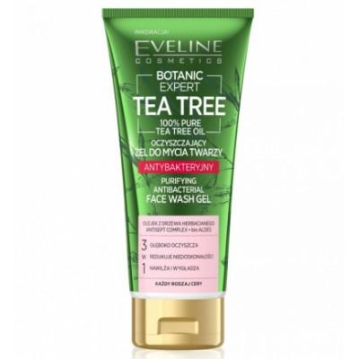 Eveline Botanic Expert Tea Tree Purifying Antibacterial Face Wash Gel 175 ml