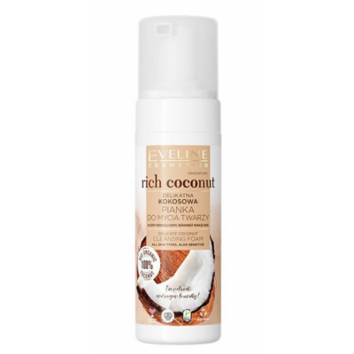 Eveline Rich Coconut Delicate Coconut Cleansing Foam 150 ml
