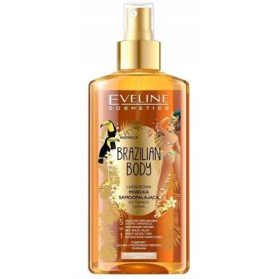 Eveline Brazilian Body Luxury Self-tanning Face & Body Mist 150 ml