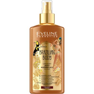 Eveline Brazilian Body Luxury Golden Body Illuminator 150 ml