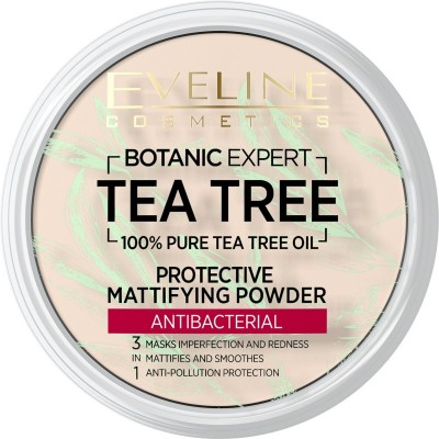 Eveline Botanic Expert Tea Tree Antibacterial Powder No. 01 Transparent 12 g