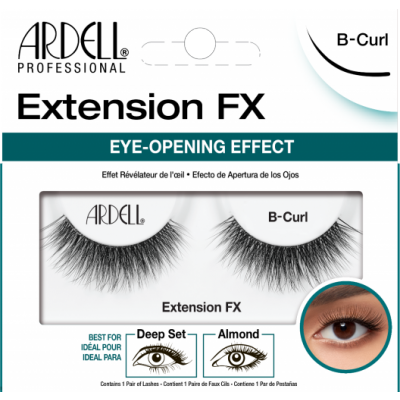 Ardell Extension Fx False Eye Lashes B-Curl 1 pair