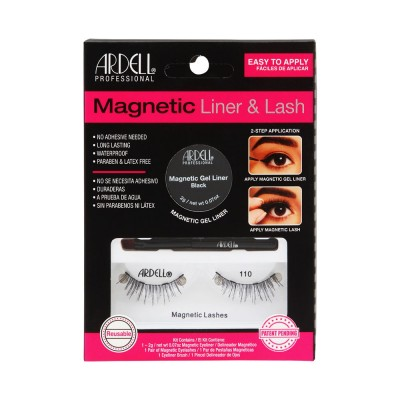 Ardell Magnetic Liner & Lash 110 1 pair + 1 kpl + 2 g