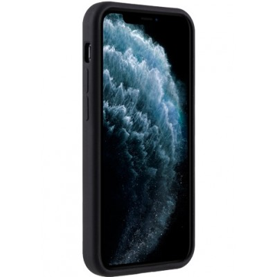 Melkco Silicone Case iPhone 12 Mini Black iPhone 12 Mini