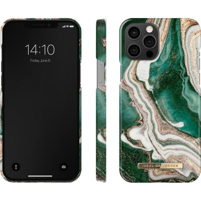 iDeal Of Sweden Fashion Case iPhone 12 Pro Max Golden Jade Marble iPhone 12 Pro Max