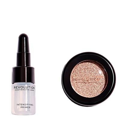 Revolution Makeup Flawless Foils Rebound Primer & Eyeshadow Set 2 ml + 2 g