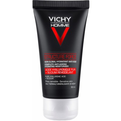 Vichy Homme Structure Force Complete Anti-Ageing Hydrating Moisturiser 50 ml