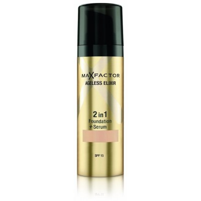 Image of   Max Factor Ageless Elixir 2 in 1 SPF15 - 75 Golden 30 ml
